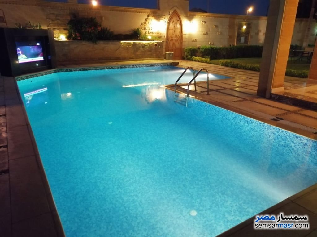 Photo 1 - Villa 5 bedrooms 6 baths 1,000 sqm extra super lux For Rent Sheikh Zayed 6th of October