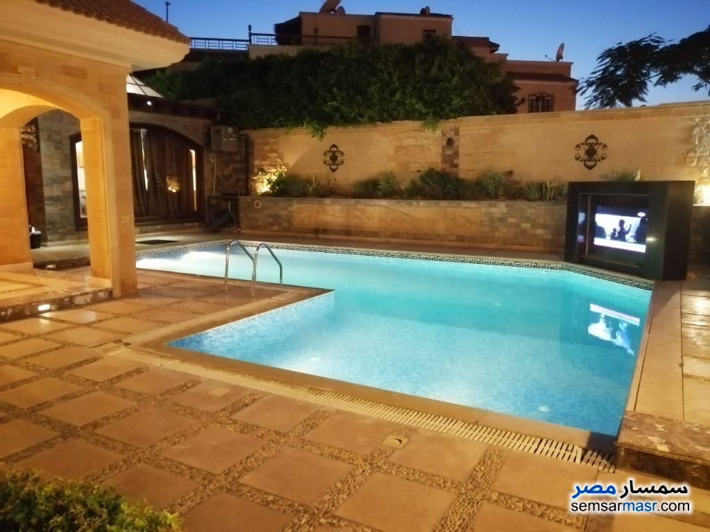 Photo 3 - Villa 5 bedrooms 6 baths 1,000 sqm extra super lux For Rent Sheikh Zayed 6th of October