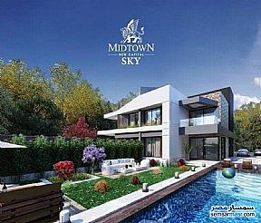 Ad Photo: Villa 5 bedrooms 5 baths 350 sqm without finish in New Capital  Cairo