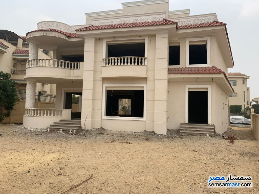 Photo 1 - Villa 6 bedrooms 6 baths 750 sqm without finish For Sale Rehab City Cairo