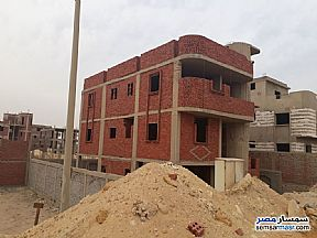 Villa 5 bedrooms 3 baths 400 sqm without finish For Sale Mukhabarat Land 6th of October - 3