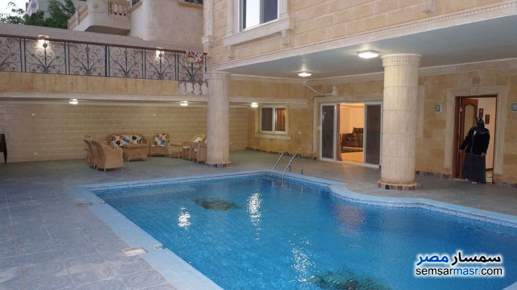 Photo 3 - Villa 9 bedrooms 5 baths 1,000 sqm extra super lux For Sale West Somid 6th of October