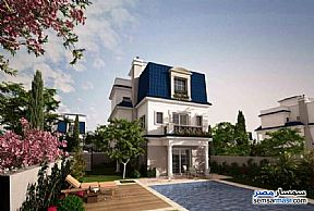 Ad Photo: Villa 5 bedrooms 5 baths 398 sqm semi finished in North Extensions  6th of October