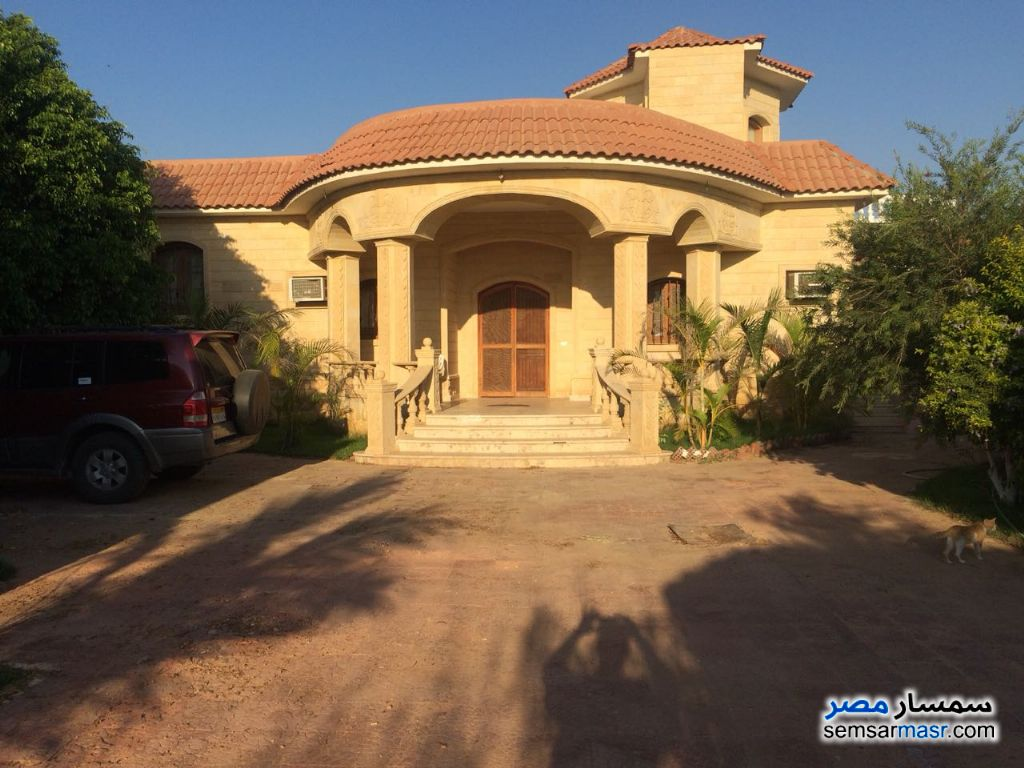 Photo 5 - Villa 4 bedrooms 3 baths 25,200 sqm extra super lux For Sale Cairo Alexandria Desert Road Giza
