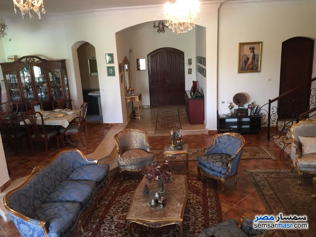 Photo 6 - Villa 4 bedrooms 3 baths 25,200 sqm extra super lux For Sale Cairo Alexandria Desert Road Giza