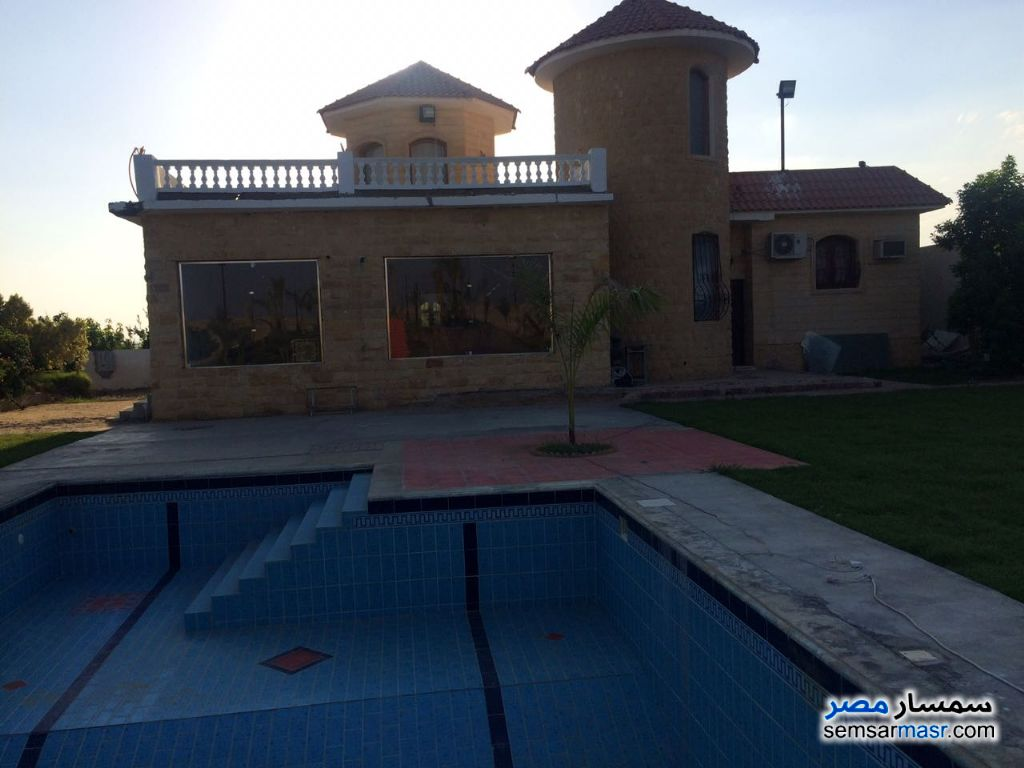 Photo 7 - Villa 4 bedrooms 3 baths 25,200 sqm extra super lux For Sale Cairo Alexandria Desert Road Giza