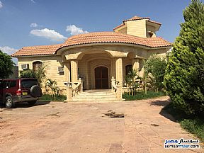 Villa 4 bedrooms 3 baths 25,200 sqm extra super lux For Sale Cairo Alexandria Desert Road Giza - 2
