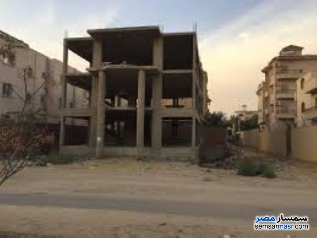 Photo 1 - Building 600 sqm without finish For Sale West Somid 6th of October