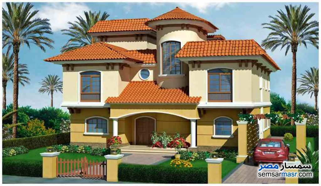 Photo 3 - Villa 4 bedrooms 4 baths 1,200 sqm semi finished For Sale Madinaty Cairo