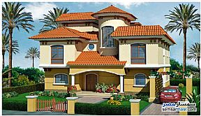 Villa 4 bedrooms 4 baths 1,200 sqm semi finished For Sale Madinaty Cairo - 3