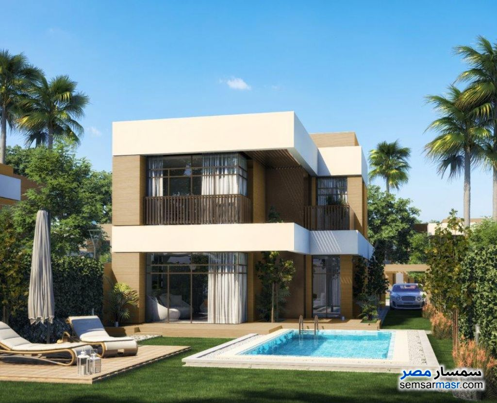 Ad Photo: Villa 4 bedrooms 4 baths 191 sqm without finish in Heliopolis  Cairo