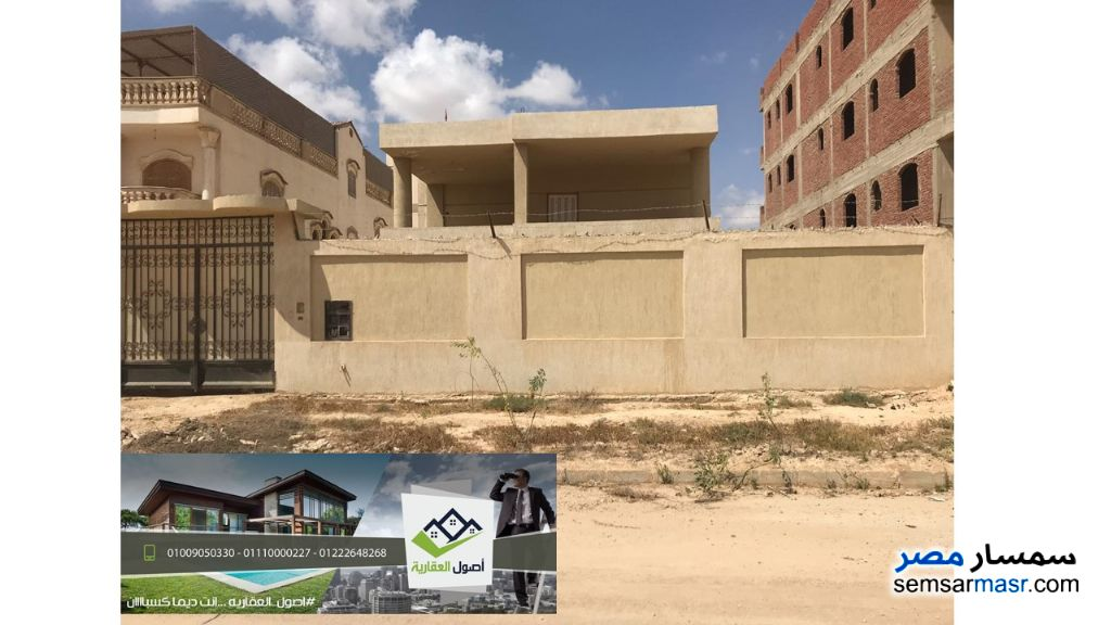 Photo 1 - Villa 3 bedrooms 1 bath 450 sqm semi finished For Sale Borg Al Arab Alexandira