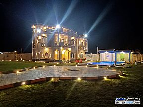 Villa 7 bedrooms 3 baths 2,800 sqm extra super lux For Sale Cairo Alexandria Desert Road Giza - 1