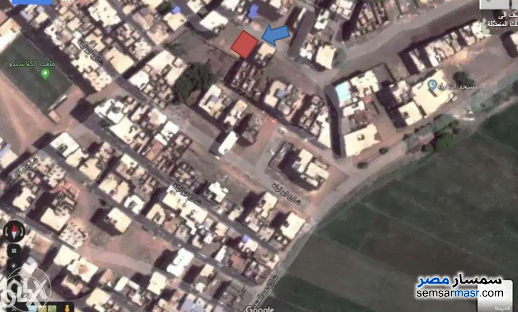Ad Photo: Land 93 sqm in Sinbillawain  Daqahliyah