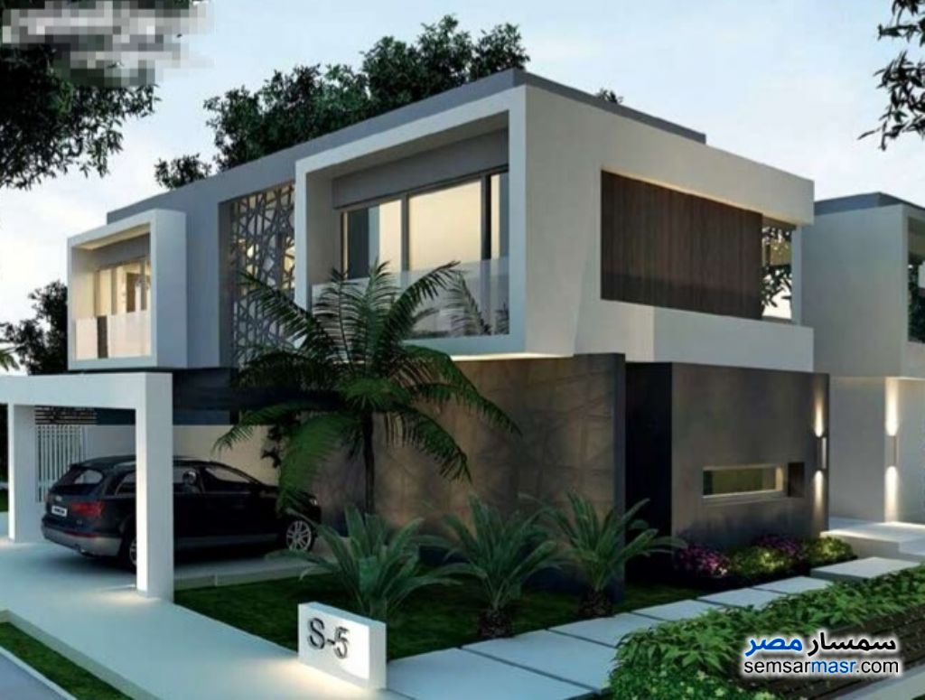 Photo 2 - Villa 5 bedrooms 2 baths 300 sqm without finish For Sale North Extensions 6th of October