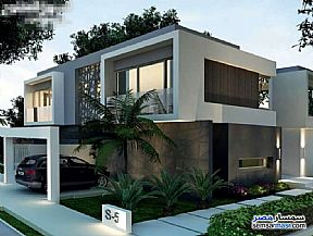 Villa 5 bedrooms 2 baths 300 sqm without finish For Sale North Extensions 6th of October - 2