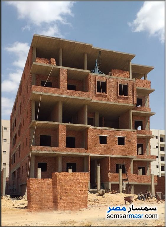 Photo 1 - Apartment 2 bedrooms 1 bath 90 sqm semi finished For Sale New Heliopolis Cairo