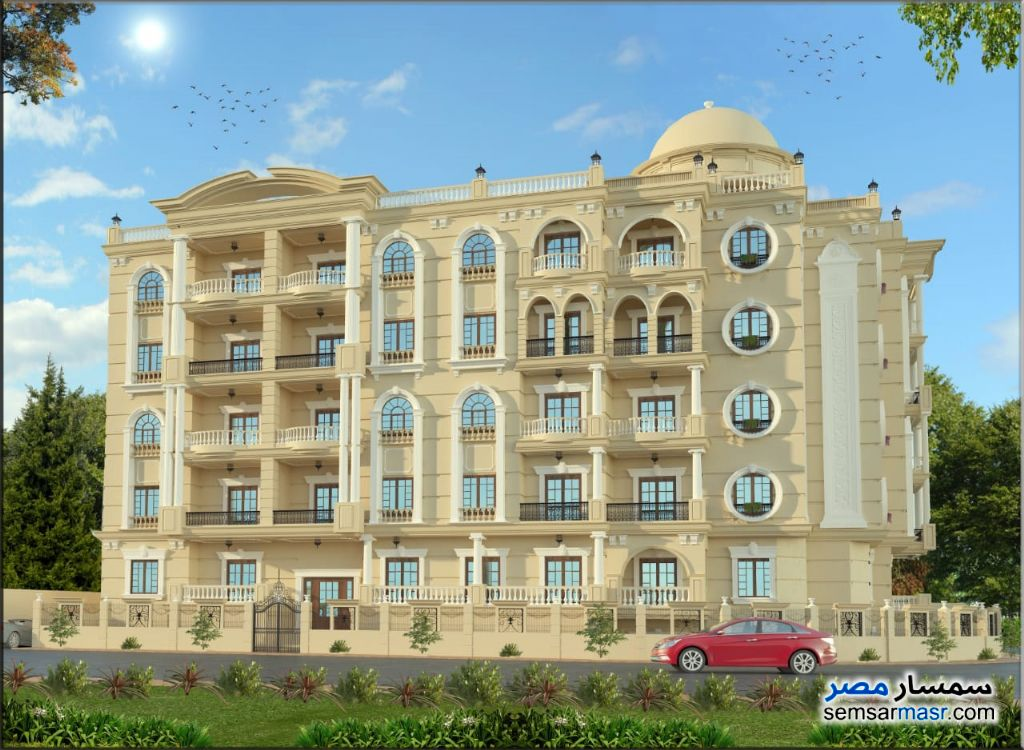 Photo 2 - Apartment 2 bedrooms 1 bath 90 sqm semi finished For Sale New Heliopolis Cairo