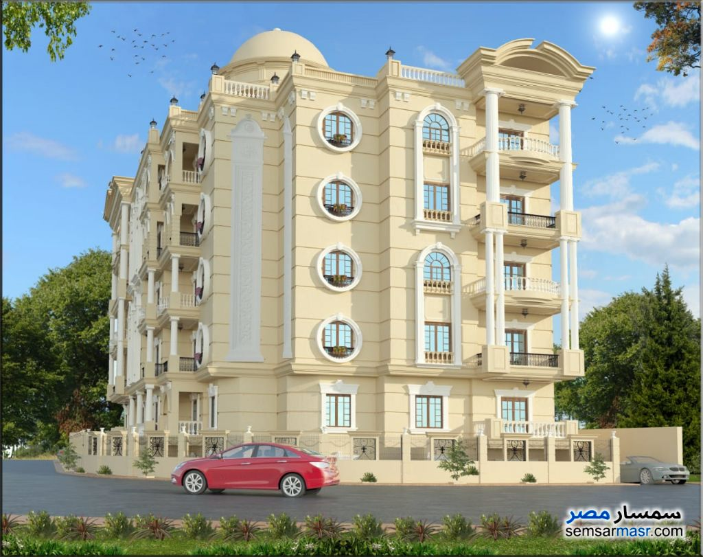 Photo 3 - Apartment 2 bedrooms 1 bath 90 sqm semi finished For Sale New Heliopolis Cairo
