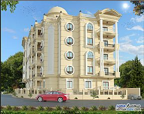 Apartment 2 bedrooms 1 bath 90 sqm semi finished For Sale New Heliopolis Cairo - 3