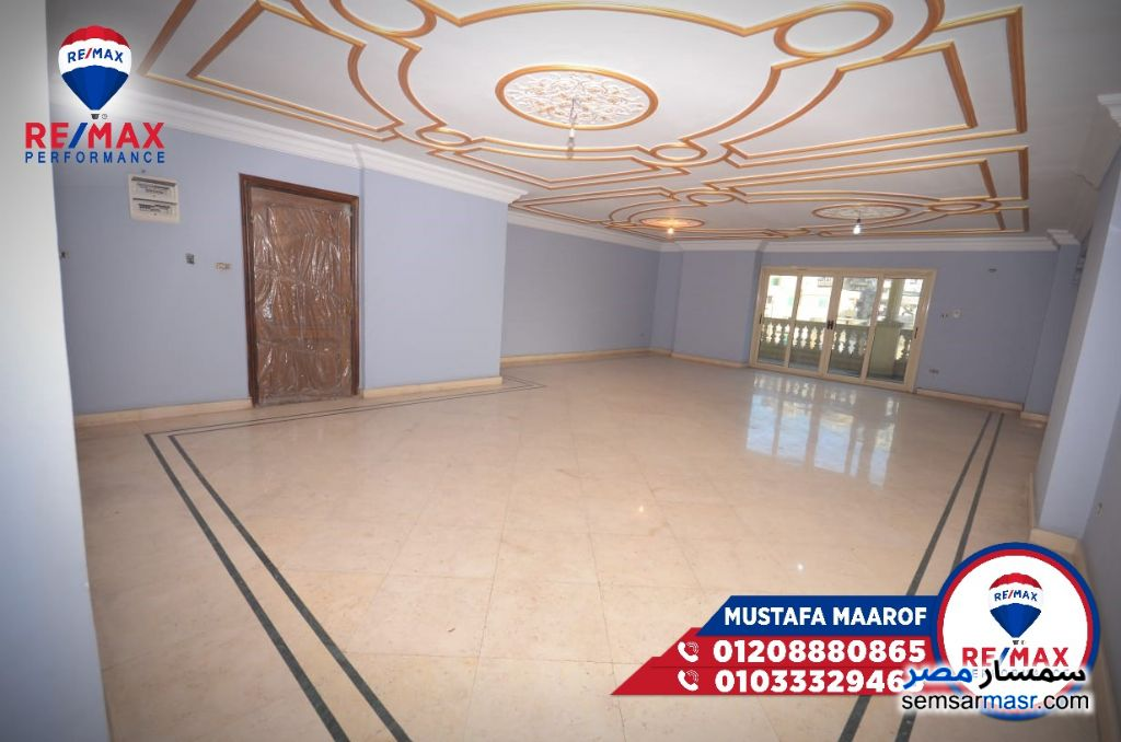 Photo 1 - Apartment 3 bedrooms 3 baths 270 sqm extra super lux For Sale Al Lbrahimiyyah Alexandira