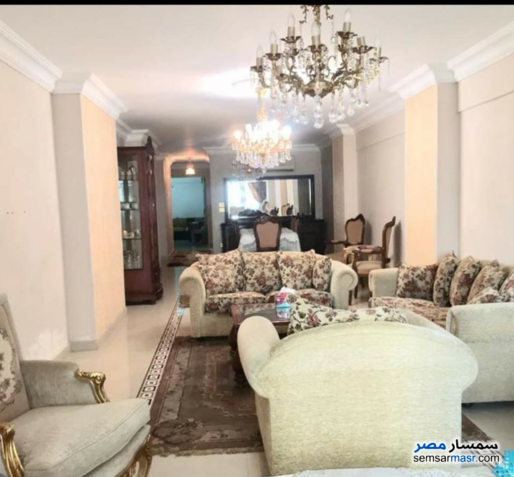 Photo 1 - Apartment 3 bedrooms 2 baths 225 sqm extra super lux For Rent Smoha Alexandira