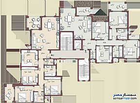 Apartment 3 bedrooms 3 baths 157 sqm super lux For Sale Madinaty Cairo - 2
