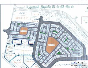 Ad Photo: Land 414 sqm in October Gardens  6th of October