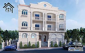 Ad Photo: Apartment 3 bedrooms 2 baths 200 sqm semi finished in Qalyubiyah