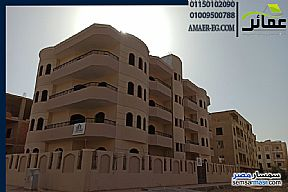 Ad Photo: Apartment 3 bedrooms 3 baths 400 sqm semi finished in Shorouk City  Cairo