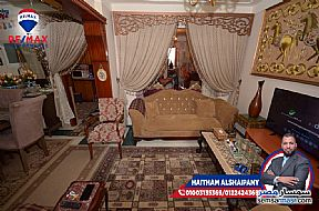Ad Photo: Apartment 2 bedrooms 1 bath 110 sqm super lux in Kafr Abdo  Alexandira