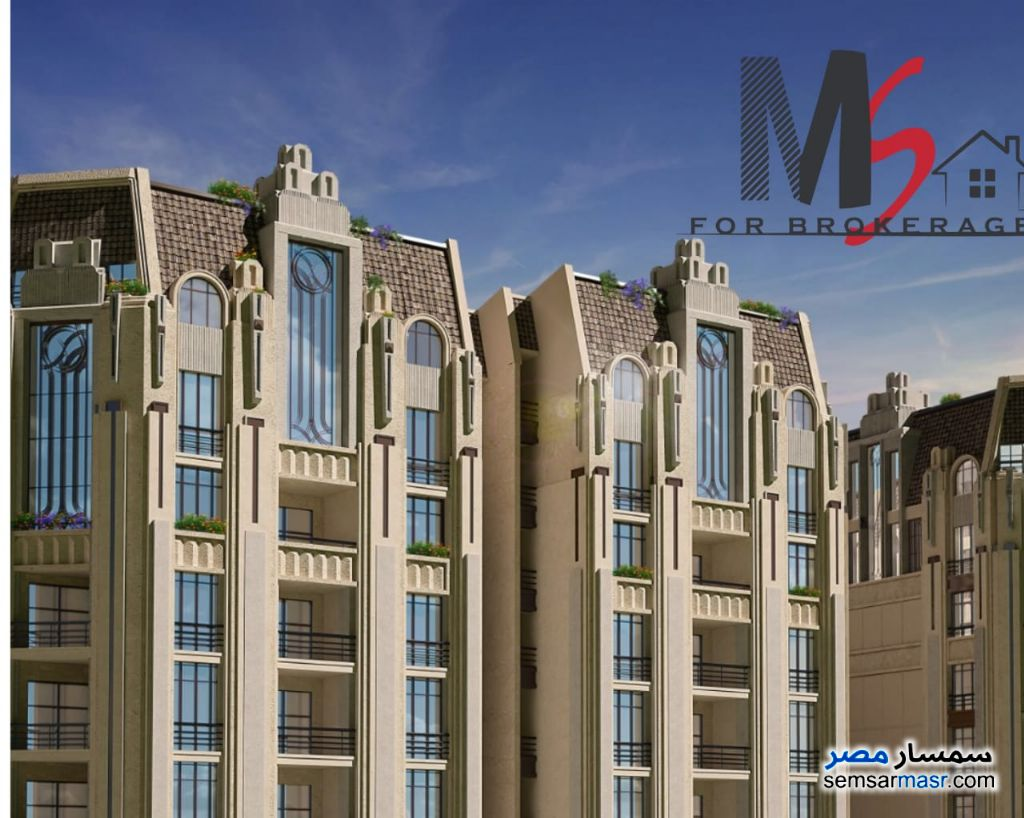 Photo 1 - Apartment 2 bedrooms 2 baths 122 sqm super lux For Sale Smoha Alexandira