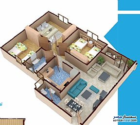 Ad Photo: Apartment 3 bedrooms 2 baths 135 sqm without finish in Mansura  Daqahliyah