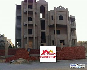 Ad Photo: Villa 7 bedrooms 7 baths 618 sqm semi finished in West Somid  6th of October