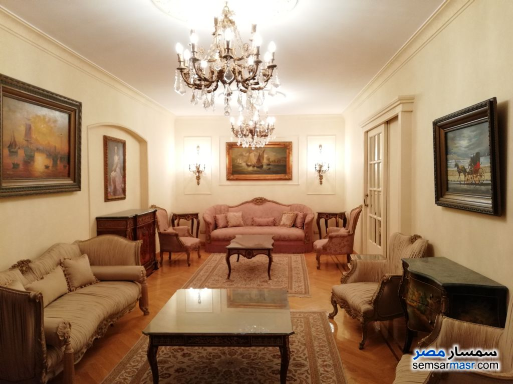 Photo 1 - Apartment 4 bedrooms 2 baths 200 sqm extra super lux For Rent Dokki Giza