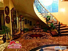 Villa 8 bedrooms 10 baths 890 sqm extra super lux For Sale West Somid 6th of October - 6