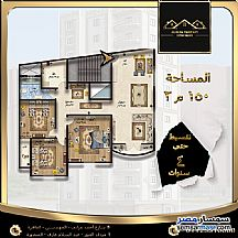 Apartment 3 bedrooms 1 bath 150 sqm without finish For Sale Mansura Daqahliyah - 2