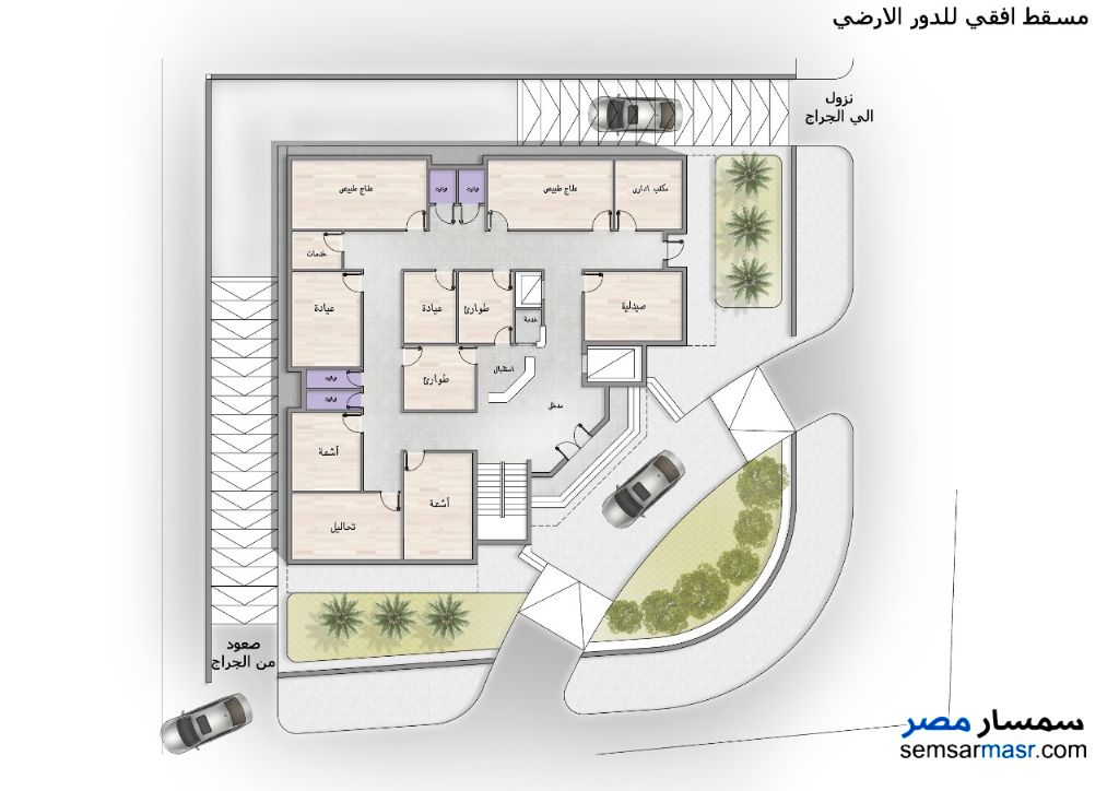 Ad Photo: Commercial 947 sqm in Qena City  Qena