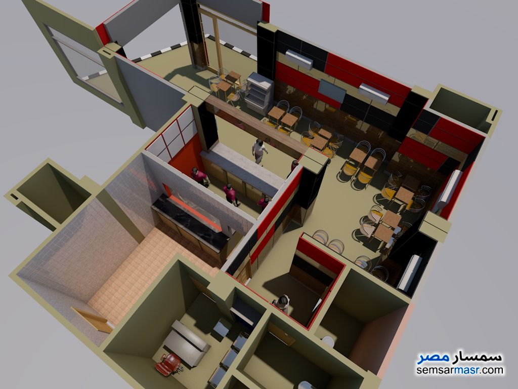 Photo 7 - Commercial 115 sqm For Rent Districts 6th of October