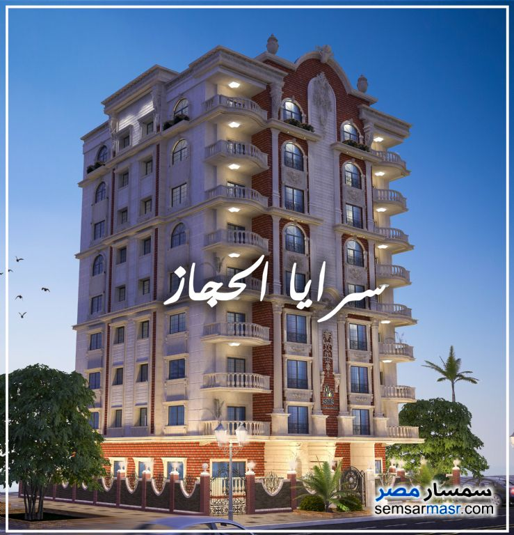 Photo 1 - Apartment 3 bedrooms 3 baths 250 sqm semi finished For Sale Heliopolis Cairo