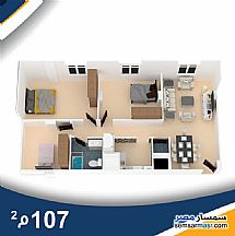 Ad Photo: Apartment 3 bedrooms 2 baths 107 sqm semi finished in Hadayek Al Ahram  Giza