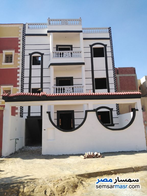 Ad Photo: Building 150 sqm semi finished in October Gardens  6th of October