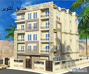 Ad Photo: Apartment 3 bedrooms 2 baths 177 sqm semi finished in October Gardens  6th of October