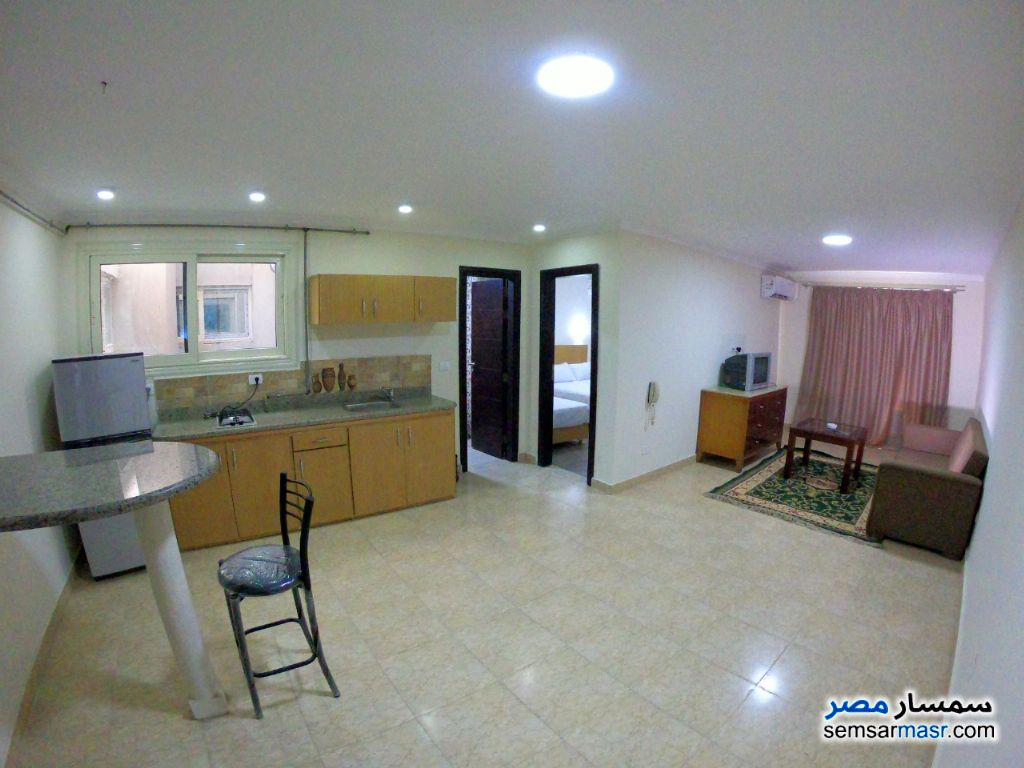 Photo 4 - Apartment 1 bedroom 1 bath 45 sqm extra super lux For Rent Dokki Giza