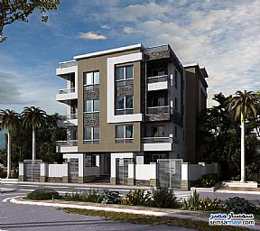 Apartment 3 bedrooms 2 baths 135 sqm semi finished For Sale North Extensions 6th of October - 1