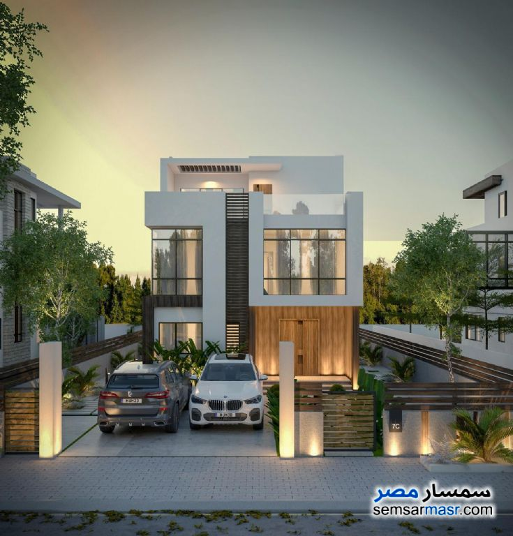 Ad Photo: Villa 7 bedrooms 5 baths 288 sqm semi finished in North Extensions  6th of October
