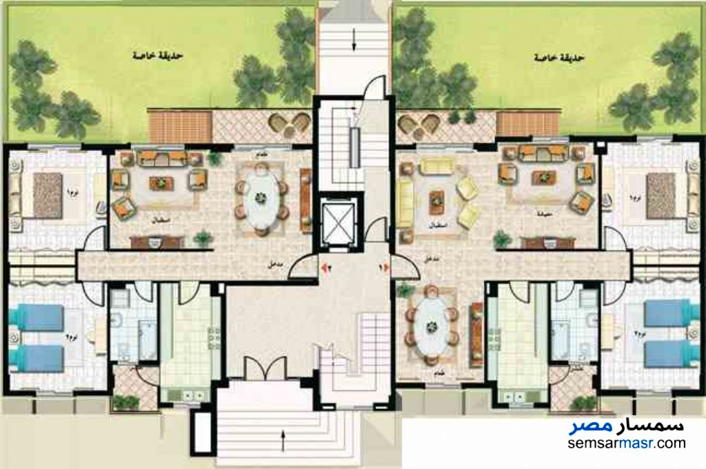 Photo 1 - Apartment 3 bedrooms 1 bath 133 sqm extra super lux For Sale Madinaty Cairo