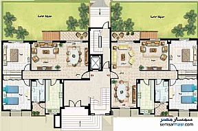 Ad Photo: Apartment 3 bedrooms 1 bath 133 sqm extra super lux in Madinaty  Cairo