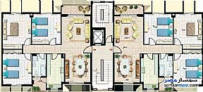 Apartment 3 bedrooms 1 bath 133 sqm extra super lux For Sale Madinaty Cairo - 3