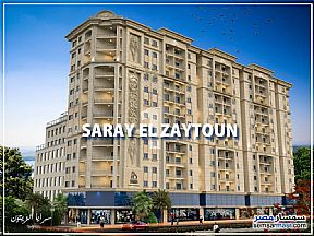 Apartment 3 bedrooms 3 baths 135 sqm without finish For Sale Zeitoun Cairo - 1